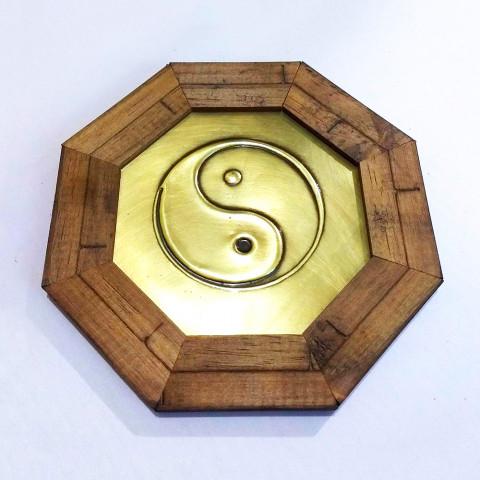 ME3032-17 - Quadro Octagonal Yin Yang (M)