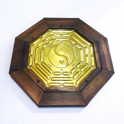 ME3032-46 - Quadro Octagonal  Bagua c/ Yin Yang