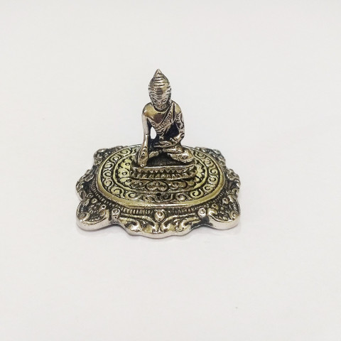 DH151B- Incensário  Metal (P) Buda