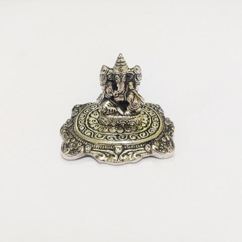DH151G- Incensário  Metal (P) Ganesh