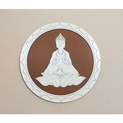 ME5910-5 - Mandala Madeira Budha G