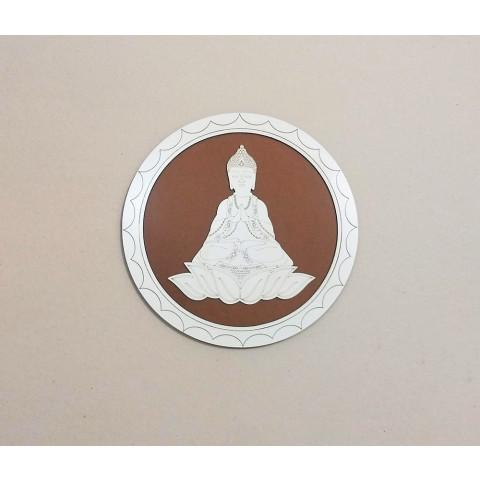 ME5909-5 - Mandala Madeira Budha M