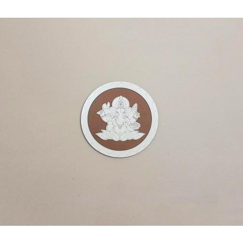 ME5914-6 - Mandala Madeira Ganesh P