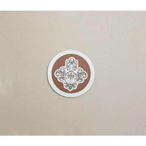 ME5914-1 - Mandala Madeira Mão Hansa P