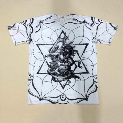 JA040 - Camiseta Branca (São Jorge)