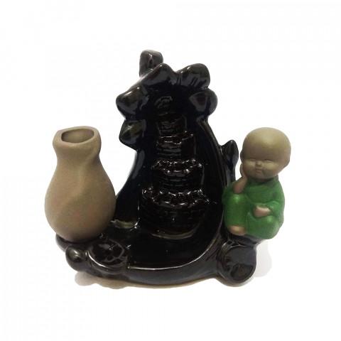 D76 - Incensário Cascata LXXVI (Buda)