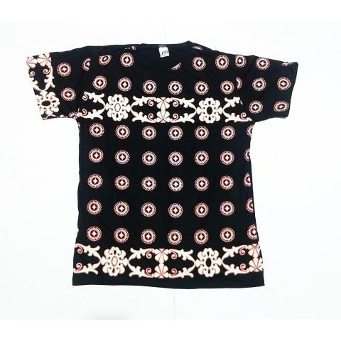 JA013 - Camiseta Preta (Círculos de Energia)