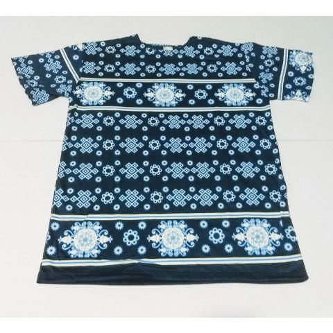 JA029 - Camiseta Azul (Símbolos Azuis)