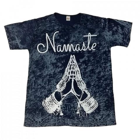JA100 - Camiseta Azul (Namaste)