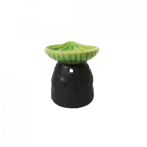 D80A - Difusor de Cerâmica Concha Verde