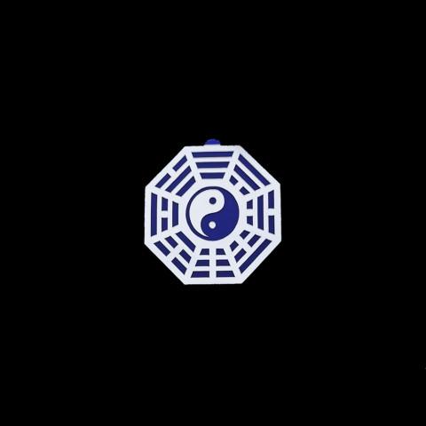 MA4103-07 - Baguá Acrílico Espelhado Céu Anterior Azul (M)