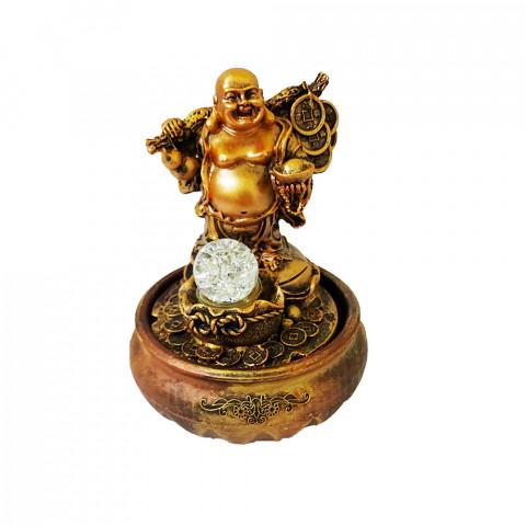 BP14164 - Fonte Buda da Prosperidade C/ Bolinha