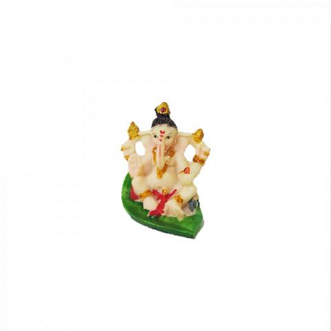 BP8389G - Escultura Pequena Ganesh Folha (5cm)