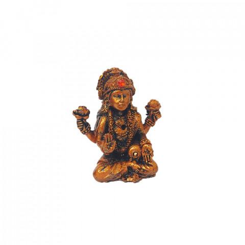 BP17468C - Escultura Pequena Lakshimi Cobreada (7cm)