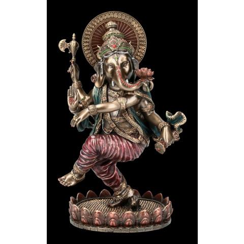 CPB040699234 - Ganesh Dançando P Bronzeado