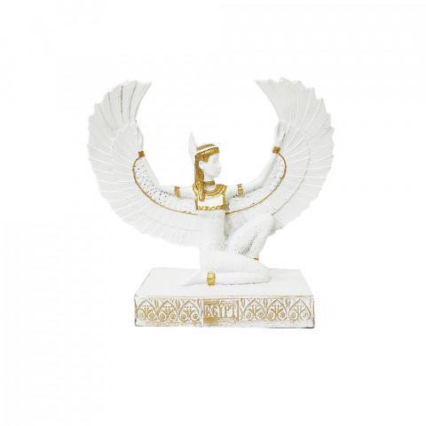 RM47-732B - Escultura Resina Mística Isis Branca