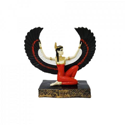 RM47-732A - Escultura Resina Mística Isis Colorida