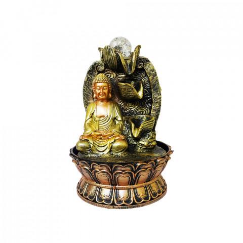 BP17412 - Fonte Buda Quedas Dourada C/ Bolinha (M)
