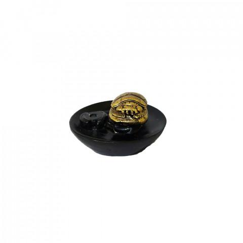RM47-716 - Incensário Cascata Resina Mística Escaravelho