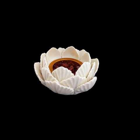 CPNA60640086 - Flor De Lotus 1485 Branco