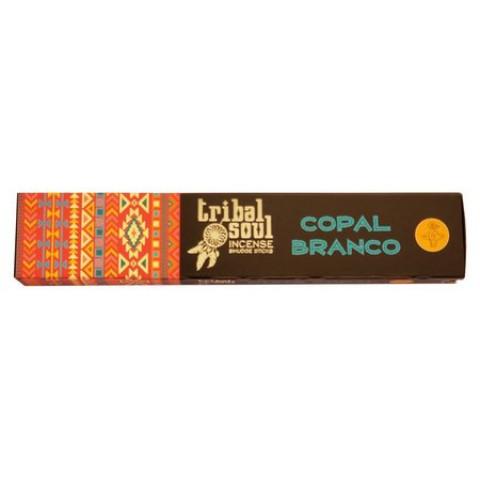 5445 - Incenso Massala Tribal Soul - White Copal (Copal Branco)
