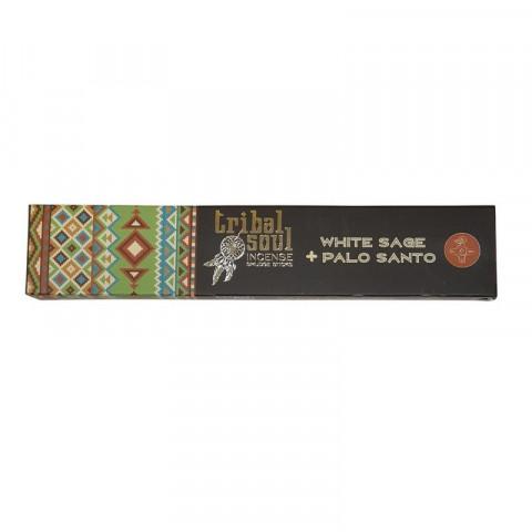 5443 - Incenso Massala Tribal Soul - White Sage + Palo Santo