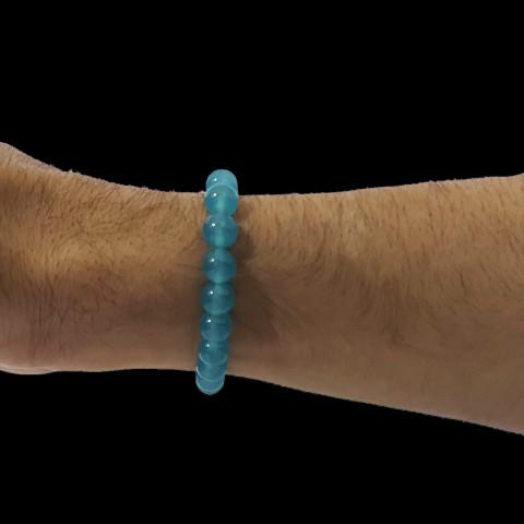 CPA410054846 - Pulseira Jade Azul T10