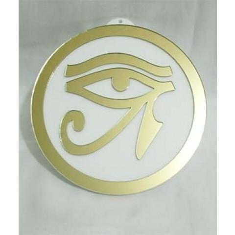 MA4102-19 - Mandala Olho de Hórus Acrílico Dourado