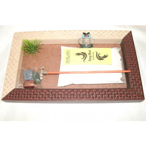 ME5893-03 - Jardim Zen Retangular Trabalhado (M) Misto
