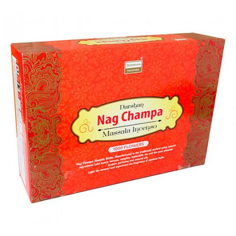 4142 - Incenso Indiano Darshan Massala Nag Champa 1000 Flowers