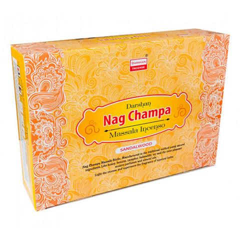 4140 - Incenso Indiano Darshan Massala Nag Champa Sandalwood