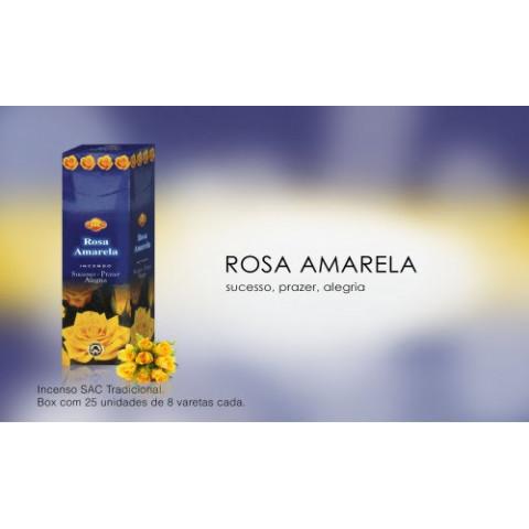 0300 - Incenso SAC Rosa Amarela
