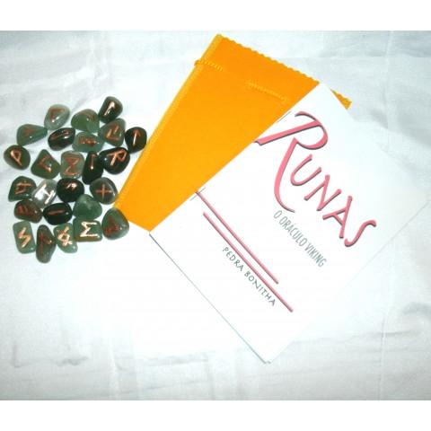 RU004-04 - Oraculo Runas (Quartzo Verde)