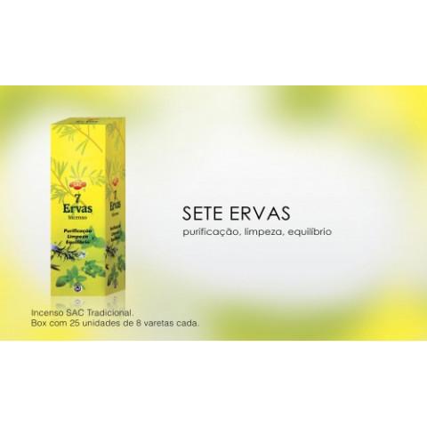 0321 - Incenso SAC Sete Ervas