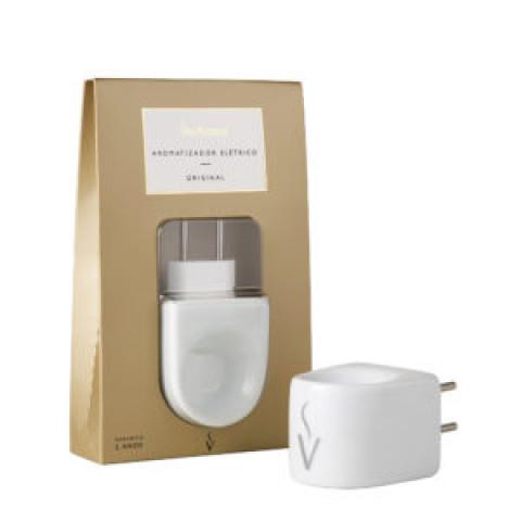 VA005-3 - Aromatizador Via Aroma Original Branco (Bivolt)