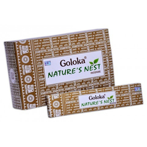 0426 - Incenso Massala Goloka Nature's Nest
