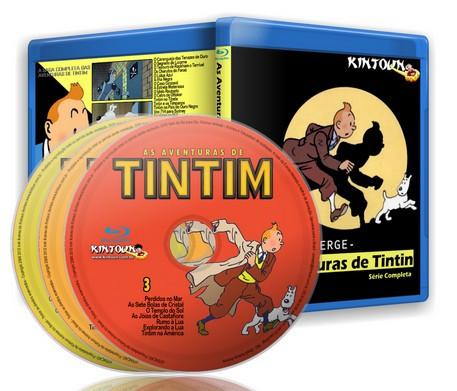 As Aventuras de Tintim - Coleção completa em Bluray Full HD 1080p