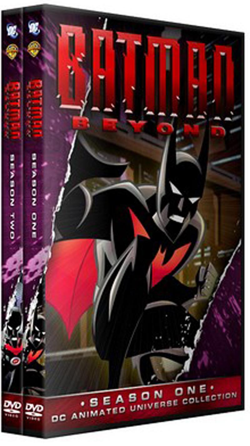 Dvds Batman do Futuro Coleção Completa