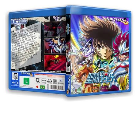 Bluray Os Cavaleiros do zodiaco Ômega Série completa Full HD