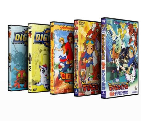 Digimon Total - 5 Temporadas completas dubladas