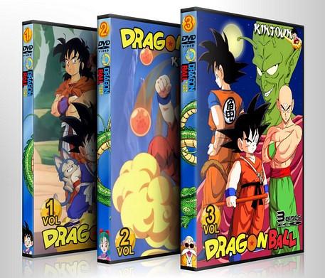 Dragon Ball(Goku pequeno) todos os episódios, filmes e ovas - Coleção DUBLADA