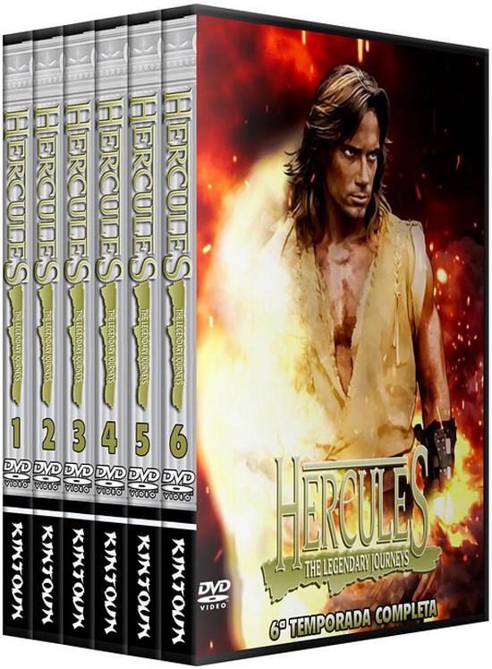 Dvds Hercules A Jornada Lendária
