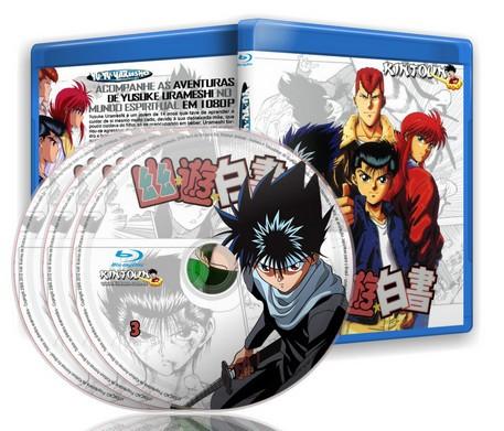Yu Yu Hakusho - Coleção completa em Bluray Full HD 1080p