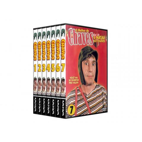 Dvds chaves coleção completa com todos os 275 episódios - Versão Multishow