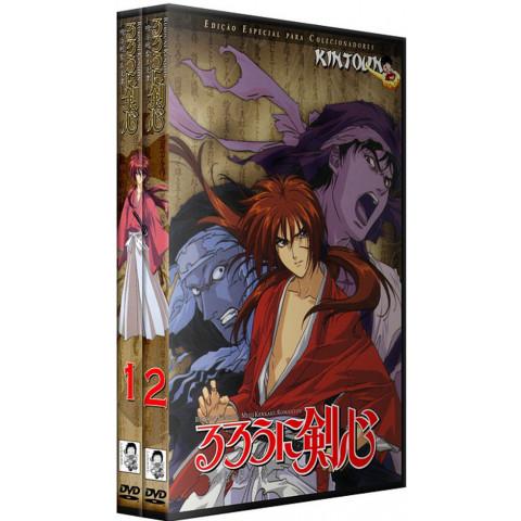 Dvds samurai X(Rurouni Kenshin) Série completa + ovas + filme