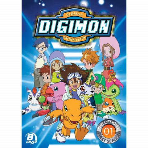 Digimon Adventure- Coleção Completa