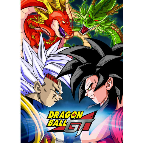 Dragon Ball GT - Edição Luxo - Dual Audio