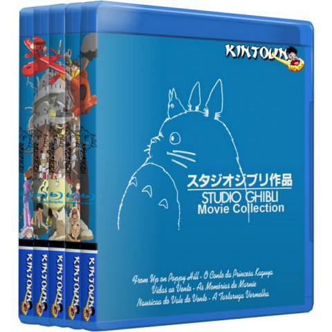 Bluray Studio Ghibli coleção completa - 28 filmes