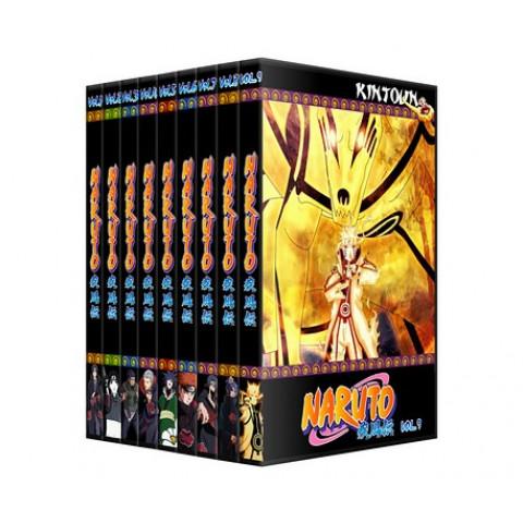 Naruto Shippuuden Coleção completa