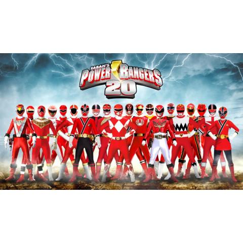 Power Rangers - Mega pack com todas as temporadas